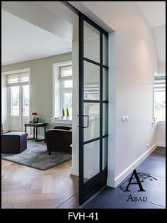 One thing that many people overlook when remodeling their home is their interior doors. Doors do more than offer privacy; they also offer another way to incorporate design elements into your home… Plafond Design, The Doors, Entry Doors, Patio Doors, Front Entry, Wood Doors, Amber Interiors, Interior Barn Doors, Exterior Doors