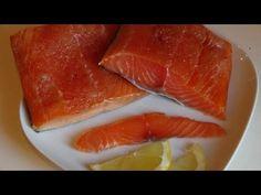(5) Копчение филе лосося в домашних условиях. - YouTube