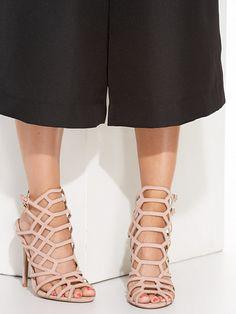 Cage Heel Sandal