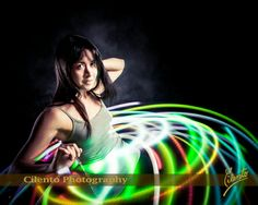 Senior portraits can be a great time to go a little wild. Light painting is expressive and artistic - and it is really fun to do.