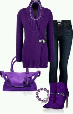 Purple my favorite color!!