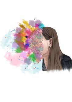 Dibujo con muchos colores y amor! <3  Instagram: Piña_fox_  <3 Instagram, Cool Stuff, Ideas, Amor, Colors, Drawings, Thoughts