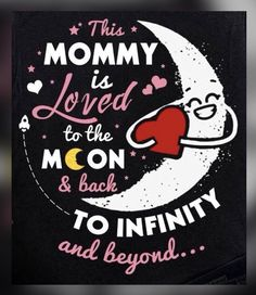 Love My Kids, My Love, To Infinity And Beyond, Mothers Love, Company Logo, Canvas, Logos, Wall, Quotes