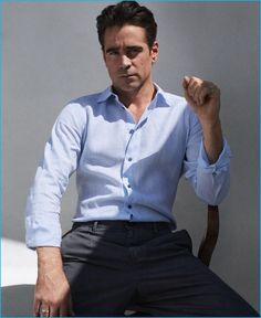 Colin Farrell(Jerry) Colin Farrell photographed by Hunter & Gatti in Dolce & Gabbana for Vogue Hombre. Colin Farrell, Hollywood Actresses, Actors & Actresses, The Fashionisto, Jonathan Rhys Meyers, Vogue, Ben Barnes, Jeremy Renner, Perfect Man