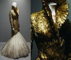 alexander mcqueen dress inspired insect - Google Search