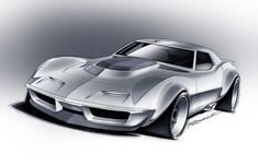 Chevrolet Corvette, Chevy, Cool Car Drawings, Custom Muscle Cars, Full Throttle, Car Posters, Concept Cars, Cars And Motorcycles, Hot Rods