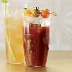 Although Kathy Casey's balsamic-spiked Bloody Mary mix is supertasty, you can simplify this recipe by using a store-bought mix.   Glassware Guide  ...