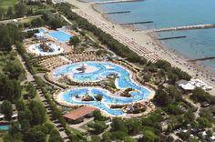 Centro Vacanze & Golf Pra' delle Torri a Caorle, in provincia di Venezia: hotel, villaggio, camping con parco acquatico e campo da golf in Veneto.