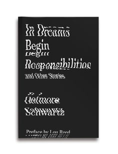 "Cover of ""In Dreams Begin Responsibilities and Other Stories"" (Delmore Schwartz), cover by Erik Carter, and very nice too."