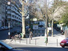 Paris, Métropolitain, Entrée de la station Botzaris, arch. Hector Guimard