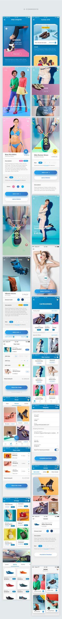 Bolder – Multipurpose Mobile UI KIT for Sketch
