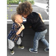 """  H U N T E R  B A B Y  #CousinLove "" Photo taken by @joycebonelli on Instagram, pinned via the InstaPin iOS App! http://www.instapinapp.com (06/06/2015)"