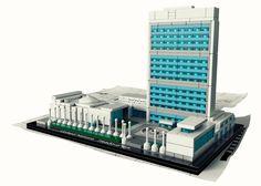 LEGO Architecture Landmark Series, United Nations, New York City