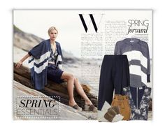 """""""Spring Blues"""" by roxie ❤ liked on Polyvore featuring Apiece Apart, rag & bone, L'Agence, Jérôme Dreyfuss, Chloé and Jennifer Zeuner"""