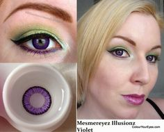 MesmerEyez Coloured Contacts Range from colouryoureyes.com