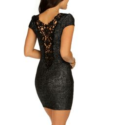 f218e52eed370 Charcoal Crochet Panel Dress Panel Dress, Night Out, Spring Summer Fashion,  21st Birthday