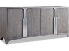 Brownstone Furniture Palmer 74''L x 21''W Rectangular Driftwood Gray Buffet