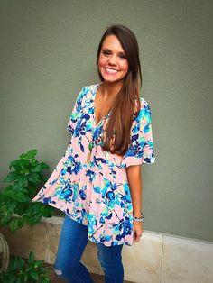 Sahara Floral Tunic Ii | ella bleu