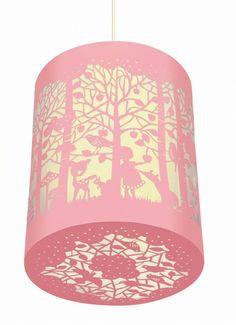 DJECO papierknipkunst lamp in het bos | PSikhouvanjou