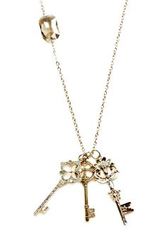 Three Key Necklace