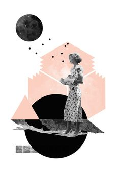 print by Natalie Nicklin #collage #design #graphic #art #diseño #grafico #arte