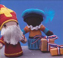 gehaakte Sint en Piet