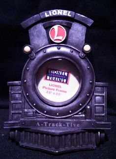 Lionel Train A-Track-Tive Picture Frame (Engine Front)  #Lionel