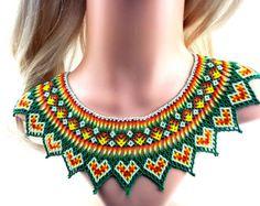 Collar Colar Huichol