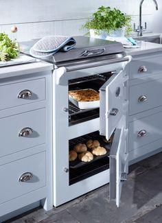 EVH60 Everhot Range Cooker in White