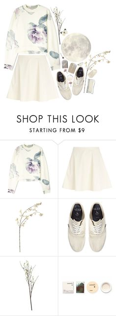 """Senza titolo #266"" by nafte ❤ liked on Polyvore featuring Acne Studios, River Island, Jack Wills, Crate and Barrel, Korres, skirt, Flowers, pale, pastels and floralprints"
