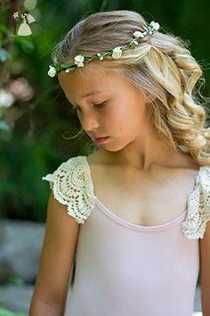 Ivory Wreath Headband - Bridal hair accessories (*Amazon Partner-Link)