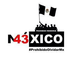 'Prohibido Olvidar'. FUE EL ESTADO: #YaMeCansé #MéxicoEstadoFallido #MéxicoViolento #Impunidad #Represión #DDHH #Ayotzinapa #Iguala #Guerrero #México #Normalistas #AyotzinapaSomosTodos #JusticiaParaAyotzinapa #JusticeForAyotzinapa #YoSoyAyotzinapa #AcciónGlobalPorAyotzinapa #Artículo39RenunciaEPN #EPN #20NovMx #CriminalizaciónDeLaProtesta #Corrupción #PRI