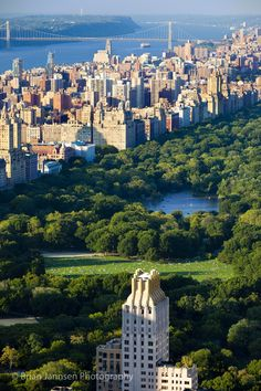 Central Park and the buildings of Upper Manhattan, New York City USA. © Brian Jannsen Photography