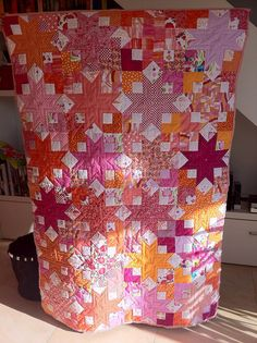 Boxy Star Quilt Summertime