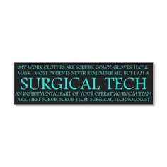 Surgical Technologist all the school subjects