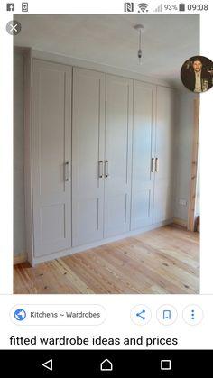 Diy Built In Wardrobes, Wardrobe Ideas, Tall Cabinet Storage, Garage Doors, Building, Outdoor Decor, Furniture, Home Decor, Decoration Home
