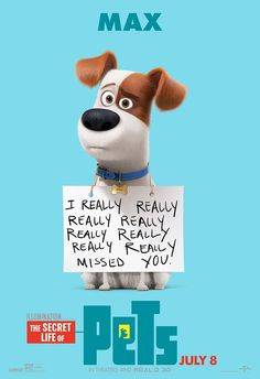 a vida secreta dos bichos desenho The Secret Life of Pets Movie Poster Pets Movie, I Movie, Pet Max, Movies And Series, Cult Movies, Film D'animation, Secret Life Of Pets, Pet Life, Cartoons