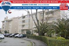 BAIXA DE PREÇO - Apartamento T3 duplex à Casa da Saúde da Boavista AGORA €180.000, antes €190.000 http://www.remax.pt/123551032-153 Comigo Está Vendido! Ana Rio : 963 717 081 : ario@remax.pt
