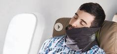 There are few things worse to start the day than having had a terrible broken sleep. You can avoid this by using a comfortable travel pillow for your neck. Discovery Play, Modernism Week, Geek Gadgets, Good Sleep, Innovation Design, Traveling By Yourself, Something To Do, Unique Gifts, Product Launch