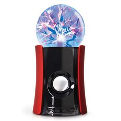 The Pulsing Plasma Wireless Speaker - Hammacher Schlemmer