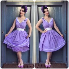 Miss Victory Violet | THE PURPLE AHH