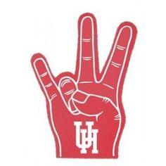 UH Sign Foam Hand Mitt
