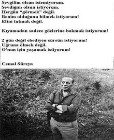 cemal süreya Cool Words, Quotations, Literature, Poems, Love You, Wisdom, Sayings, Quotes, Life