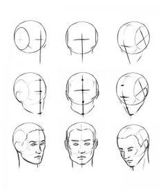 Comment dessiner and visages on pinterest - Apprendre a dessiner un bison ...