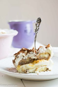 Baked apple tiramisu - winter can come Dessert Oreo, Tiramisu Dessert, Dessert Drinks, Dessert Recipes, Crepes, Baked Apples, Winter Food, Fall Food, Trifle
