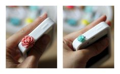 Hello, whimsy(: DIY dust plugs... im gonna so make these for my iPhone!!!(: