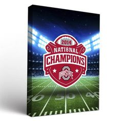 Victory Tailgate NCAA Ohio State University Buckeyes Stadium Framed Graphic  Art On Wrapped Canvas Size: