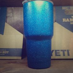 Spotted while shopping on Poshmark: YETI Sparkly BLUE !! See my Paige for more color! #poshmark #fashion #shopping #style #Yeti #Accessories