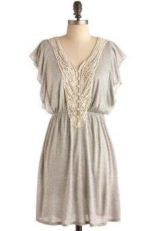 Comfy as a nightgown, fab with a tan leather jacket and harness boots