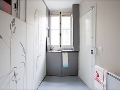 Tiny apartment in Paris, (8sqm only! ) ~  It's pretty amazing to know what could be done with just 200 square feet but it's even more amazing to know that 200 square feet can be turned into a home.  The woman in the video above turned the tiny dirty apartment into a complete home and you can only believe it if you see it. Check out the video above if you haven't already.    Read more…